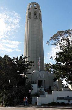 Coit Tower, San Francisco, California, USA