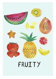 fruity. laura gee.