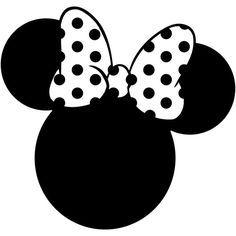 Minnie Mouse cabeza silueta Polka Dot arco Walt Disney Land mundo etiqueta pegatina coche carro ventana portátil troquelada vinilo seleccionar Color y tamaño