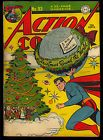 Action Comics #93 Very Nice Golden Age Christmas Cover Superman DC 1946 GD-VG