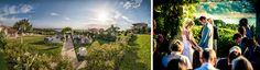 Gazebo Wedding Ceremony | Vintage Villas | Patrick Motola Photography | Magpie Blossom Boutique