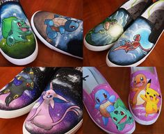 Hey, I found this really awesome Etsy listing at https://www.etsy.com/listing/200342090/custom-hand-painted-pokemon-shoes