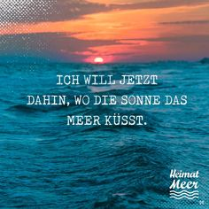 I want to go to where the sun kisses the sea! 🌅👫🌊 / Heimatmeer® Strandklamotte ⚓ For those who love the sea >> Lyric Quotes, Lyrics, Travel Around The World, Around The Worlds, Good Thoughts, Wasting Time, Travel Quotes, In The Heights, Natural Beauty