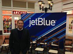 Palmetto Dunes' Brad Marra at the launch of @JetBlue Airways flying into @Savannah Hilton Head International Airport