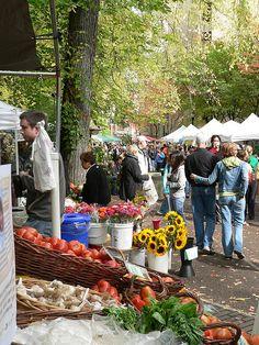 Farmers Market at Portland State University