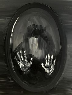 Paint Nite. Ghost In The Mirror