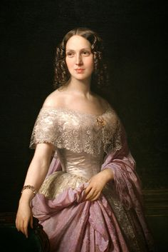 Elizabeth Wethered Barringer - Federico de Madrazo y Kuntz, 1852