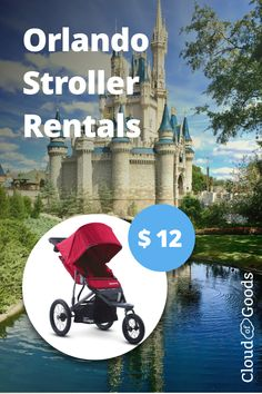 Rent a Stroller for your Disney Orlando Vacation.