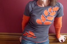 Hope Studios: Layered Tee - Tutorial Tuesday Fixing a T-shirt with holes or bleach stains!