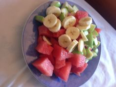 Can't get anymore Aussie then fruit platters ;) #AustraliaDayOnboard