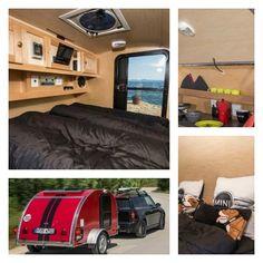 MI RINCÓN DE SUEÑOS: DESCUBRIENDO UNA MINI-CARAVANA Busse, Tiny Living, Rv, Camper, Mini Caravan, Vans, Camper Trailers, Motorhome, Caravan