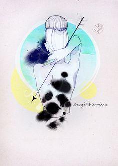 Zodiac Signs by Ekaterina Koroleva