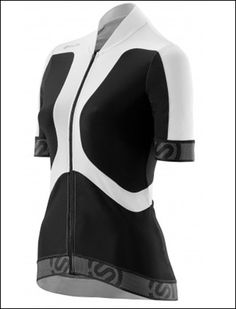 Shop for this full length lightweight front zip with clip down Women's Short Sleeve Jersey Tremola at £70 with free delivery offer from Skins.