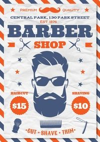380+ Barber Customizable Design Templates | PosterMyWall Poster Design, Graphic Design Posters, Mens Hair Salon, Barber Shop Haircuts, Social Media Posting Schedule, Invert Colors, Promotional Flyers, Share Online, Custom Fonts