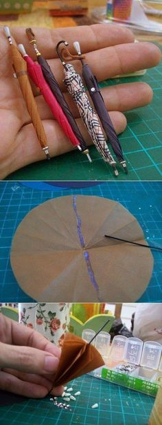 paraguas miniatura