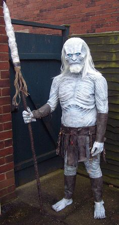 White Walker Game Of Thrones Costume Cosplay Fancy by TerrorToys