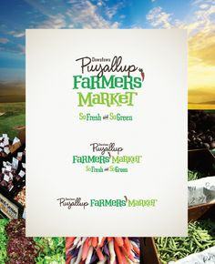 Puyallup Farmer's Market Branding on Behance