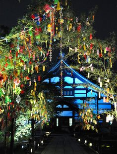 七夕 Tanabata July 7, all over Japan