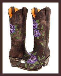 Romantic, We and Brown cowboy boots on Pinterest