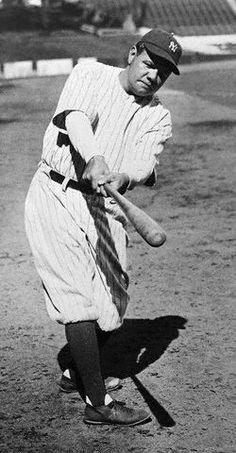 "RF - Babe Ruth - ""The great bambino"""