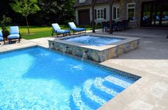 Amazing Swimming Pool Tiles Design: Extraordinary Swimming Pool Ceramic Tile Home Design Ideas Decorating Contemporary Architecture Accessories Apartment Pool Great Outdoor Mixed With Rustic Stone Tile Flooring Ideas ~ workdon.com Swimming Pool Inspiration