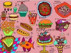FAVORITE FOODS , by Camille Holvoet,