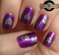 Searchin 4 Sunshine: [Nails] LilaLauneLack mit trend IT UP MAGICAL ILLUSION 050