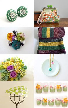 Green suits you!! by Yayoi Funahashi on Etsy--Pinned with TreasuryPin.com