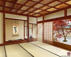 Characteristics of the Japanese home design
