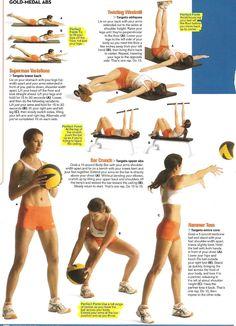 major core workout.