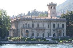 The Villa Erba on Lake Como. Used as the Nightfox's home in Ocean's Twelve.