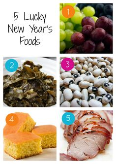 5 Foods to Eat for Luck and Prosperity on New Year's Day | Adventures of a Florida Girl loveee me some New Years dinners