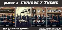 Fast & Furious 7 Live HD Theme For Nokia X2-00, X2-02, X2-05, X3-00, C2-01, 206, 208, 301, 2700 & 240×320 Devices ~ Rkthemes   Download Free Themes For Nokia and Android Phones