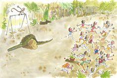 Enormous Crocodile Quentin Blake