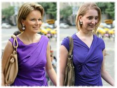 The Look For Less: Queen Mathilde of Belgium (recreated from thrift store items)