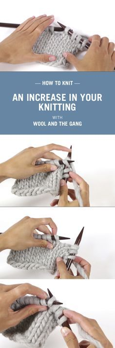 How to knit with Wool and the Gang.
