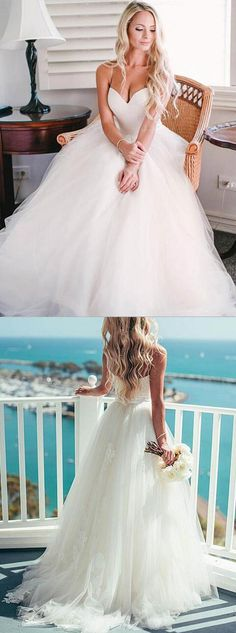2017 wedding dresses,beach wedding dresses,simple wedding dresses,tulle wedding dresses,bridal dresses @simpledress2480