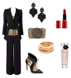 A fashion look from November 2016 featuring vince tank, long sleeve blazer and party pants. Browse and shop related looks. Kenneth Jay Lane, Giorgio Armani, Miss Selfridge, Alexander Mcqueen, Christian Louboutin, Valentino, Fashion Looks, Long Sleeve, Polyvore
