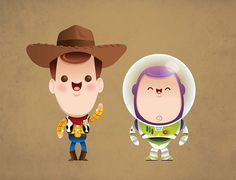 Toy Story Kawaii! #kawaii #cute - http://www.otakusearch.com #anime and #manga directory