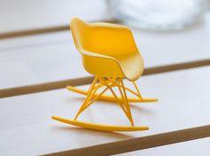 eames rocker eames chairs miniature furniture rocking chair rockers