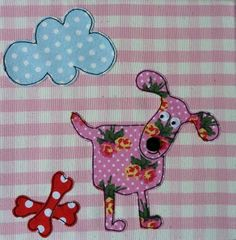 pink flowery dog-cute!