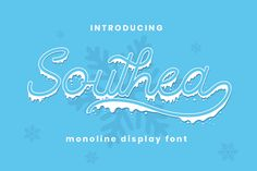 Southea is a winter monoline display font, come with 2 style regular and display.  Southea font perfectly macth for winter and christmas theme design like banner, book cover, t-shirt, branding, promotion, social media post, handwritten quotes and more. Pretty Fonts, Beautiful Fonts, Christmas Fonts, Christmas Themes, Winter Fonts, Handwritten Quotes, Title Font, Creative Fonts, Script Logo
