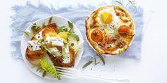 Verdens beste frokost - Diy Food, Baked Potato, Camembert Cheese, Tacos, Parmesan, Baking, Breakfast, Ethnic Recipes, Drinks
