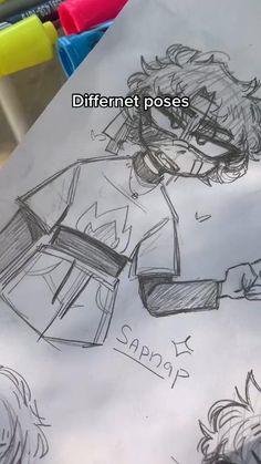 Art Drawings Sketches Simple, Pencil Art Drawings, Cute Drawings, Drawing Art, Drawing Stuff, Drawing Tips, Cartoon Drawings, Art Inspiration Drawing, Art Journal Inspiration