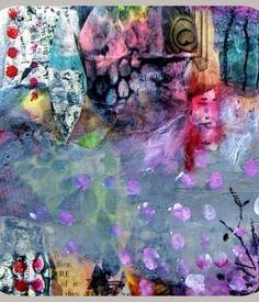 Abstracts & Backgrounds an online course with Juliette Crane Abstract Art Images, Contemporary Abstract Art, Abstract Paintings, Art Paintings, Elements Of Art, Art Journal Inspiration, Mail Art, Art Journals, Art Blog