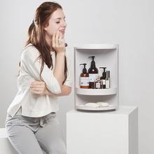 Harper - Rotating Bathroom Shelves – Jolly mood Storage Rack, Extra Storage, Storage Shelves, Shelving, Cubicle Organization, Bathroom Organization, Bathroom Organisers, Organization Hacks, Ladder Shelf Diy