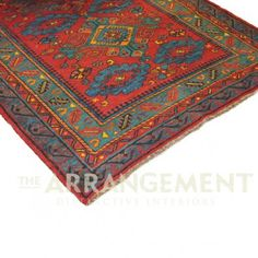 THE ARRANGEMENT - Western Jewel area rug. For the living room.