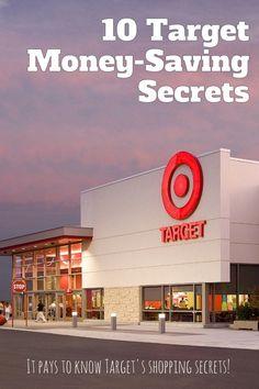 10 Target Money-Saving Secrets - start saving $$-->