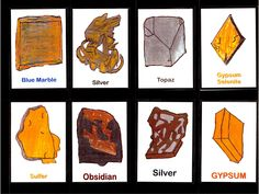 Rock and Mineral Trading Cards | Expeditionary Learning