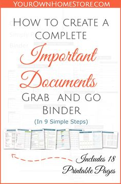 Create A Family Emergency Plan  Family Emergency Binder And Free